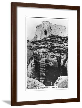 Carisbrooke Castle, Isle of Wight, 1937--Framed Giclee Print