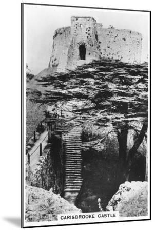 Carisbrooke Castle, Isle of Wight, 1937--Mounted Giclee Print