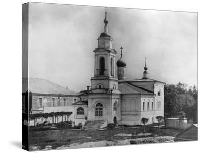 Church of Sabbas the Sanctified, on the Maidens' Field, Moscow, Russia, 1882- Scherer Nabholz & Co-Stretched Canvas Print