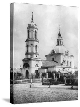 Church of St Nicholas the Miracle Maker, Kobylskoye, Moscow, Russia, 1882- Scherer Nabholz & Co-Stretched Canvas Print