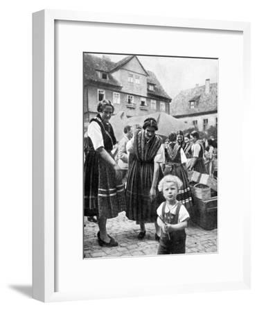 Traditional Costume, South Germany, 1936--Framed Giclee Print