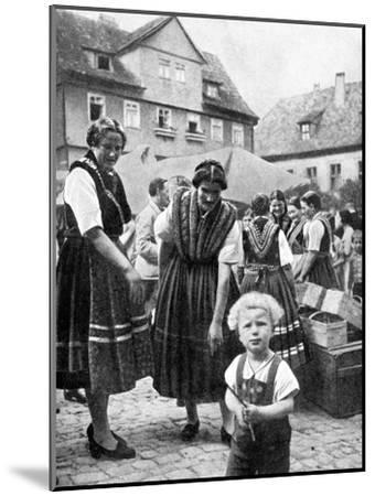 Traditional Costume, South Germany, 1936--Mounted Giclee Print
