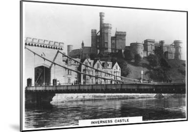 Inverness Castle, 1936--Mounted Giclee Print