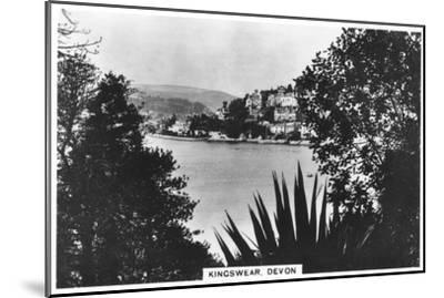 Kingswear, Devon, 1936--Mounted Giclee Print