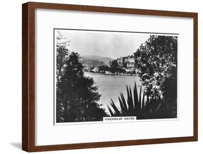 Kingswear, Devon, 1936--Framed Giclee Print