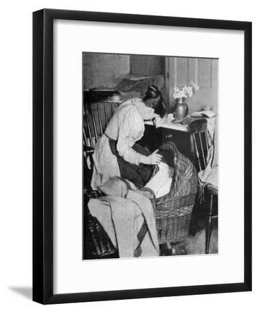 The Empty Cradle, 1900--Framed Giclee Print