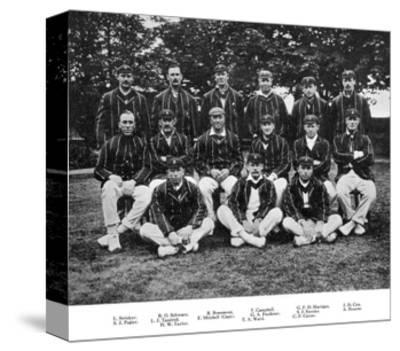 The South African Cricket Team of 1912--Stretched Canvas Print