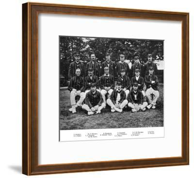 The South African Cricket Team of 1912--Framed Giclee Print