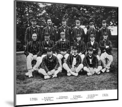 The South African Cricket Team of 1912--Mounted Giclee Print