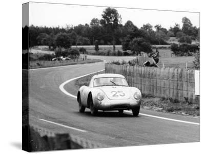 Porsche 550A Rs Coupe, Le Mans 24 Hours, France, 1956--Stretched Canvas Print