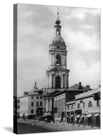 Bell Tower of the Church of the Life-Giving Trinity, Troitskaya, Moscow, Russia, 1882- Scherer Nabholz & Co-Stretched Canvas Print