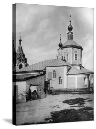 Church of St Stephen the Protomartyr, Beside the Yauza River, Moscow, Russia, 1881- Scherer Nabholz & Co-Stretched Canvas Print