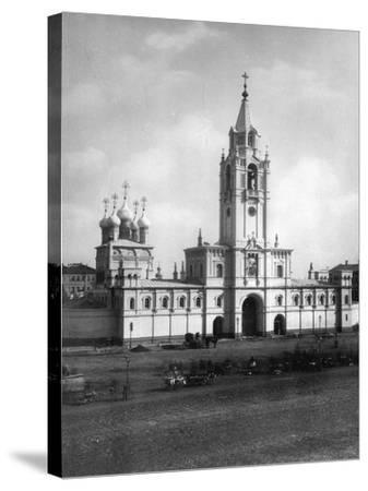 Strastnoy Monastery, Moscow, Russia, 1881- Scherer Nabholz & Co-Stretched Canvas Print