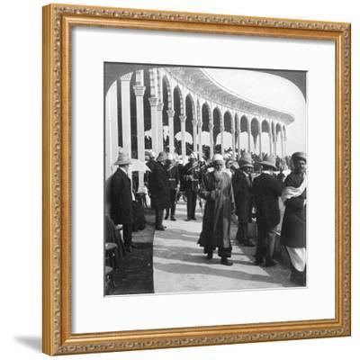Gathering at the Great Durbar Amphitheatre, Delhi, India, 1903-Underwood & Underwood-Framed Giclee Print