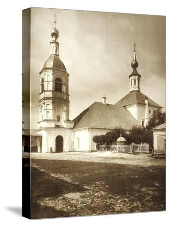 The Church of the Life-Giving Trinity, Arbat, Moscow, Russia, 1881--Stretched Canvas Print