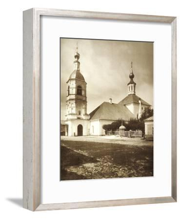 The Church of the Life-Giving Trinity, Arbat, Moscow, Russia, 1881--Framed Giclee Print