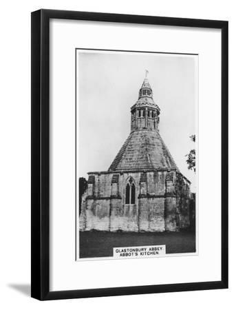 Abbot's Kitchen, Glastonbury Abbey, 1936--Framed Giclee Print
