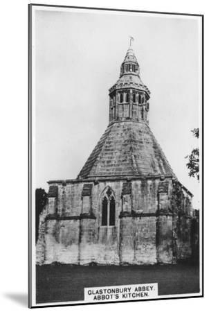 Abbot's Kitchen, Glastonbury Abbey, 1936--Mounted Giclee Print