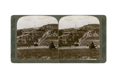 Samaria, South-West Palestine, 1900s-Underwood & Underwood-Framed Giclee Print