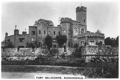 Fort Belvedere, Sunningdale, 1936--Framed Giclee Print