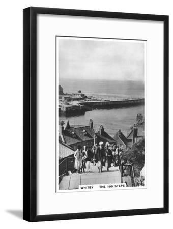 The 199 Steps, Whitby, 1936--Framed Giclee Print