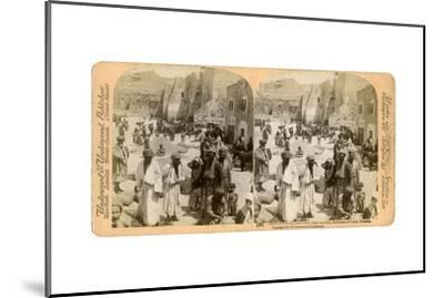 Church of the Nativity, Built Where Jesus Was Born, Bethlehem, Palestine, 1900-Underwood & Underwood-Mounted Giclee Print
