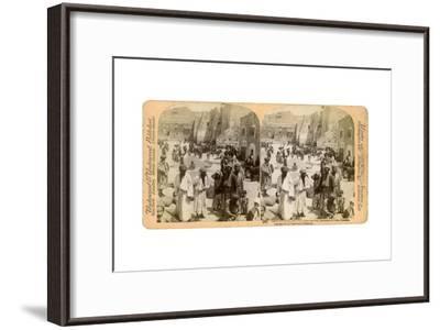 Church of the Nativity, Built Where Jesus Was Born, Bethlehem, Palestine, 1900-Underwood & Underwood-Framed Giclee Print