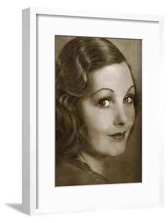 Elizabeth Allan, English Actress, 1933--Framed Giclee Print