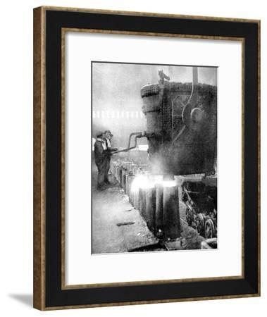Bessemer Process for Manufacturing Steel, 1936--Framed Giclee Print