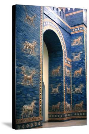 Ishtar Gate, Babylon--Stretched Canvas Print