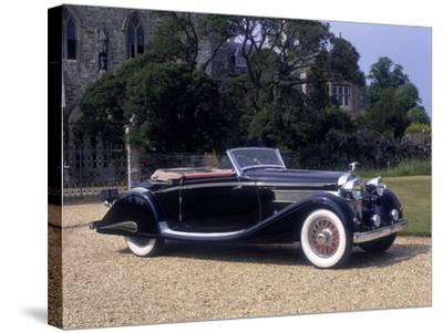 1937 Hispano-Suiza K6--Stretched Canvas Print