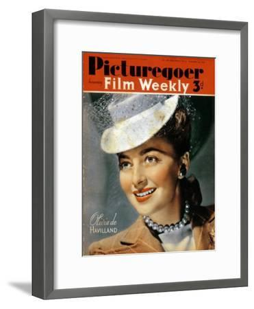 Olivia De Havilland (B191), American Actress, 1940--Framed Giclee Print