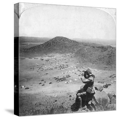 Looking into the Orange Free State, Boer War, South Africa, 1900-Underwood & Underwood-Stretched Canvas Print