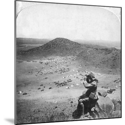 Looking into the Orange Free State, Boer War, South Africa, 1900-Underwood & Underwood-Mounted Giclee Print