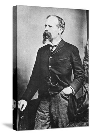 Benjamin Baker (1840-190), British Civil Engineer, C1890--Stretched Canvas Print