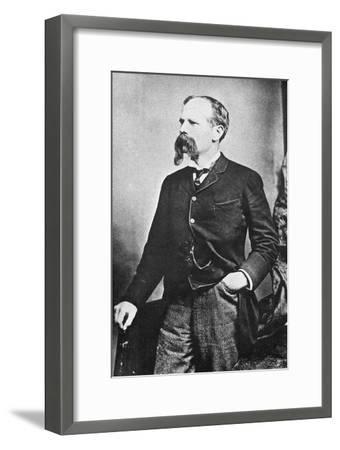 Benjamin Baker (1840-190), British Civil Engineer, C1890--Framed Giclee Print
