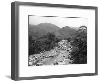 The Wag-River, Castleton, Jamaica, C1905-Adolphe & Son Duperly-Framed Giclee Print