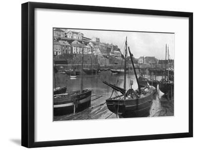 Mevagissey Harbour, Cornwall, 1924-1926-Underwood-Framed Giclee Print