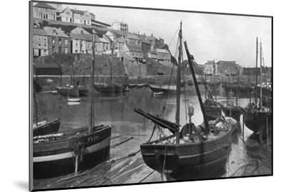 Mevagissey Harbour, Cornwall, 1924-1926-Underwood-Mounted Giclee Print