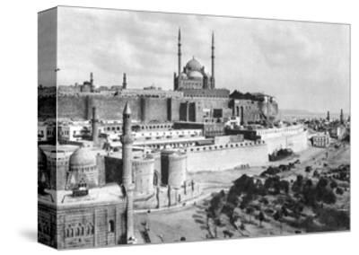 The Saladin Citadel, Cairo, Egypt, C1920S--Stretched Canvas Print