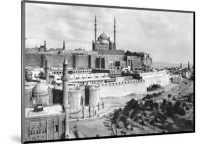The Saladin Citadel, Cairo, Egypt, C1920S--Mounted Giclee Print