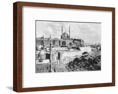 The Saladin Citadel, Cairo, Egypt, C1920S--Framed Giclee Print