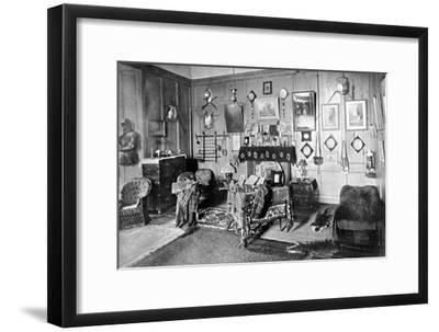A Room in Stirling Castle, Scotland, 1924-1926-Valentine & Sons-Framed Giclee Print