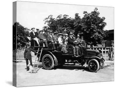 1903 Milnes Daimler Charabanc, (C1903)--Stretched Canvas Print
