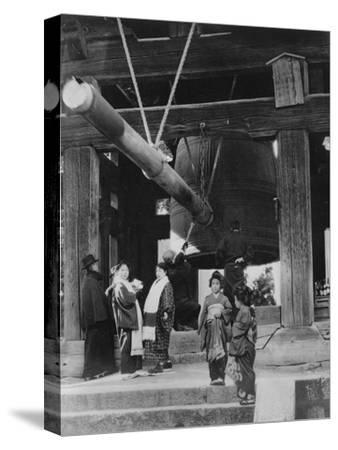 The Bell Pagoda, Nara, Japan, Late 19th or Early 20th Century--Stretched Canvas Print