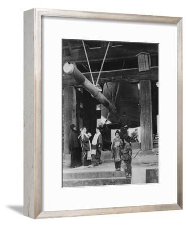The Bell Pagoda, Nara, Japan, Late 19th or Early 20th Century--Framed Giclee Print