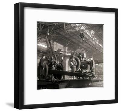 Gun Production in Wartime, USSR, World War II, C1941-C1943--Framed Giclee Print