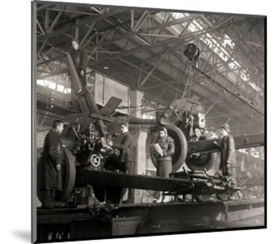Gun Production in Wartime, USSR, World War II, C1941-C1943--Mounted Giclee Print