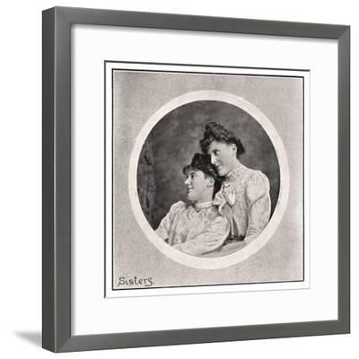 Sisters, 1901- Frederick & Sons Downer-Framed Giclee Print