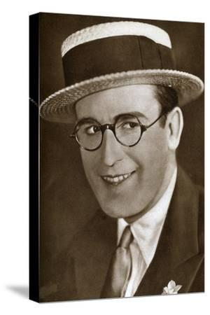 Harold Lloyd, American Actor and Film Maker, 1933--Stretched Canvas Print